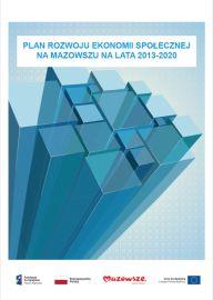 """Okładka dokumentu """"Plan Rozwoju Ekonomii Społecznej na Mazowszu na lata 2013-2020"""""""