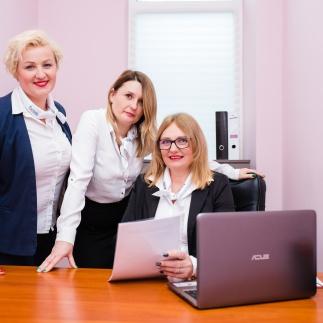 Na zdjęciu Katarzyna Ziętek, Aneta Kośla oraz Sylwia Waśkiewicz