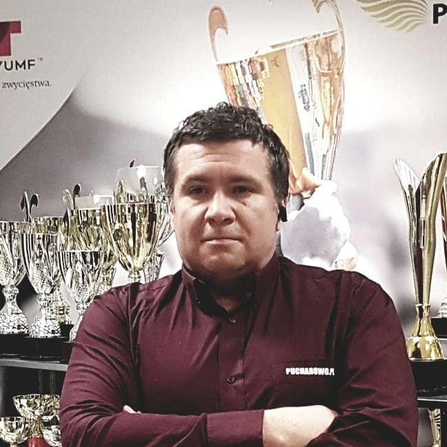 Na zdjęciu Pan Janusz Domalewski