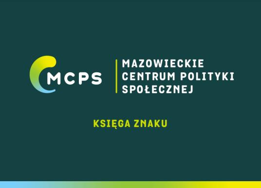 Pierwsza strona księgi znaku Mazowieckiego Centrum Polityki Społecznej