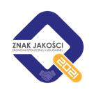 Logotyp konkursu Znak Jakości Ekonomii Społecznej i Solidarnej