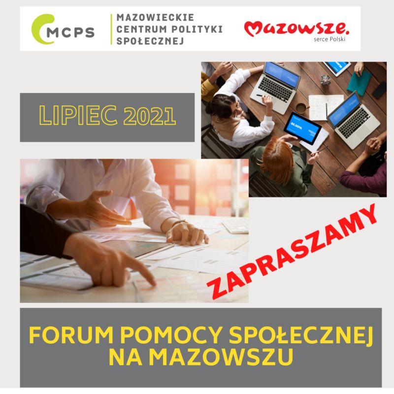 forum pomocy społecznej na mazowszu