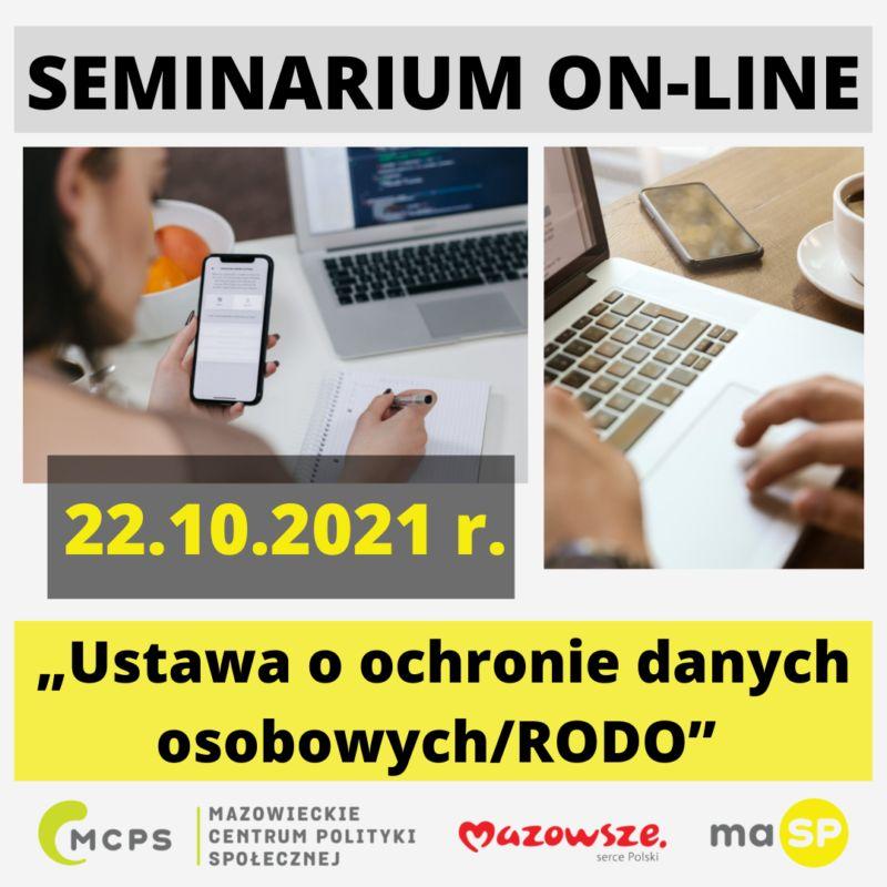 seminarium on-line - ustawa o ochronie danych osobowych